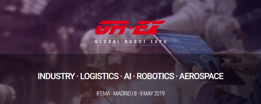 Global Robot Expo regresa en mayo a Madrid