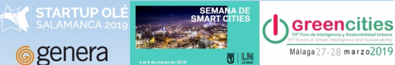 Startup Olé, Green Cities or Genera, March 2019